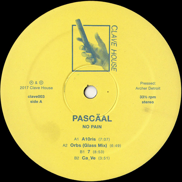 pascaal-no-pain-clave-house-cover