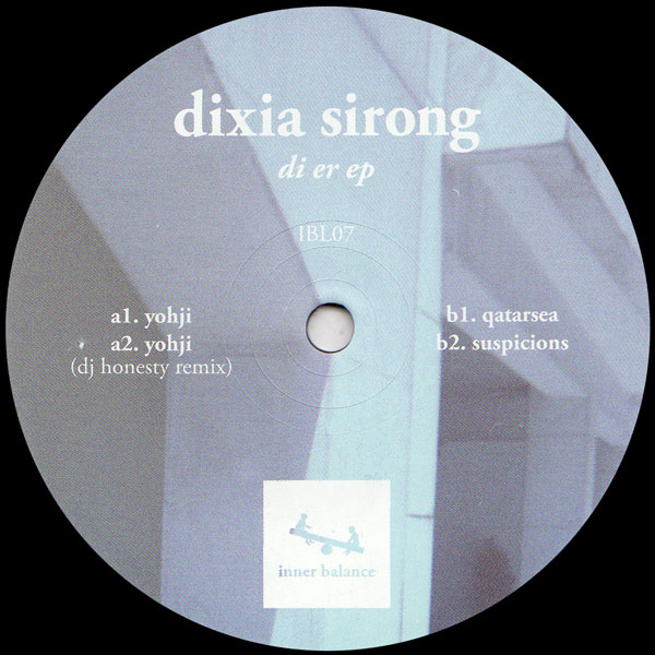 dixia-sirong-di-er-ep-dj-honesty-remix-inner-balance-cover