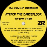 sadam-ant-joey-negro-various-attack-the-dancefloor-volume-z-records-cover