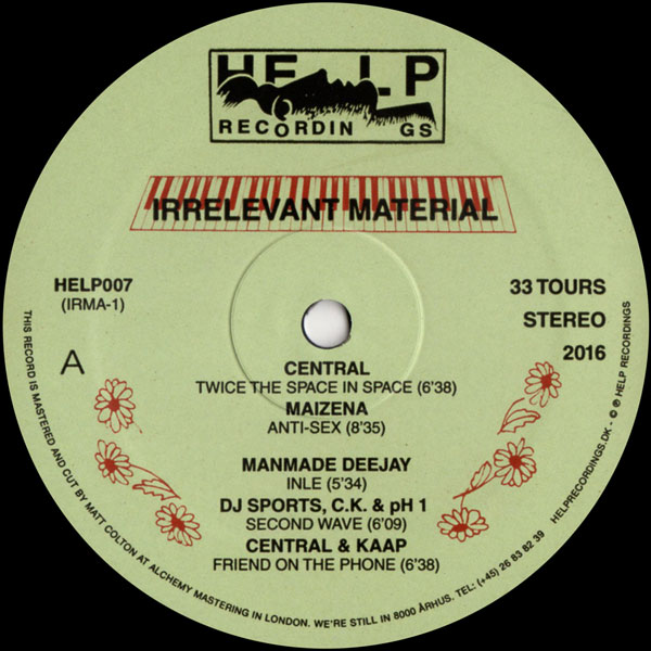central-manmade-deejay-dj-irrelevant-material-ep-help-cover