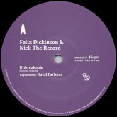felix-dickinson-nick-the-unbreakable-first-fruit-ene-records-cover