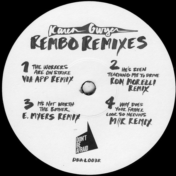 karen-gwyer-rembo-the-remixes-ron-morelli-dont-be-afraid-cover