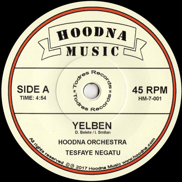hoodna-orchestra-yelben-beza-feat-tesfaye-todres-cover