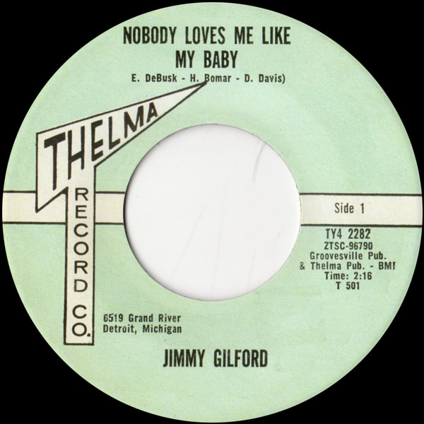 jimmy-gilford-nobody-loves-me-like-my-b-telma-cover