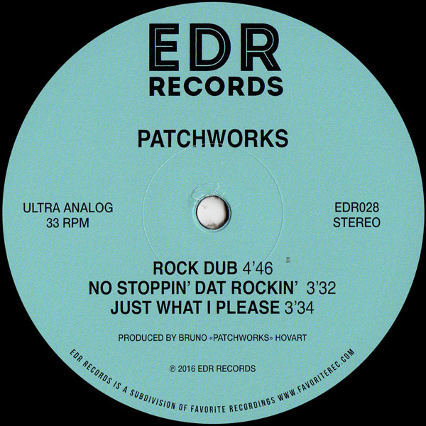 patchworks-no-stoppin-that-rockin-ep-edr-records-cover