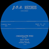 sax-kari-chocolate-fizz-job-records-cover