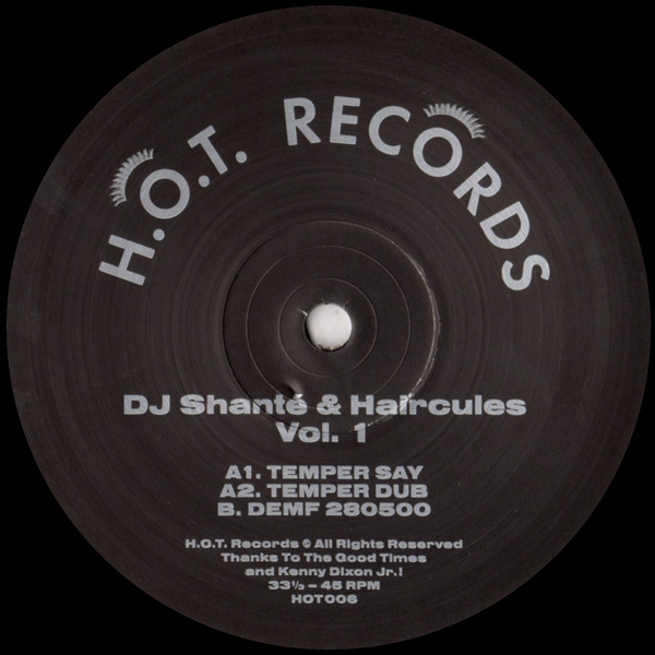 dj-shant-haircules-dj-shant-haircules-vol-1-hot-records-cover