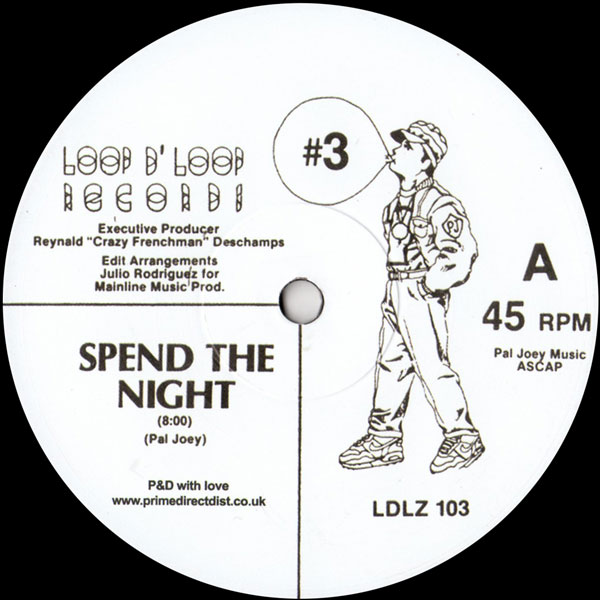 pal-joey-3-spend-the-night-flight-801-loop-d-loop-records-cover