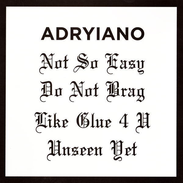 adryiano-not-so-easy-ep-shall-not-fade-cover