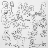 romare-projections-t-shirt-medium-ninja-tune-cover