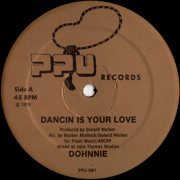 dohnnie-dancin-is-your-love-ppu-records-cover