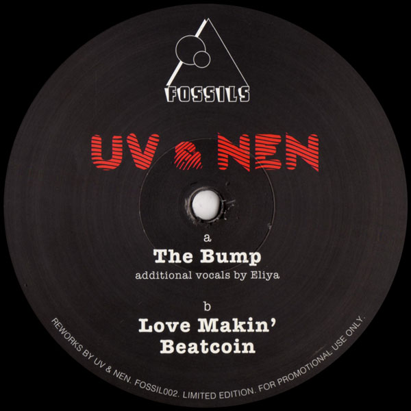 uv-nen-the-bump-ep-fossils-cover