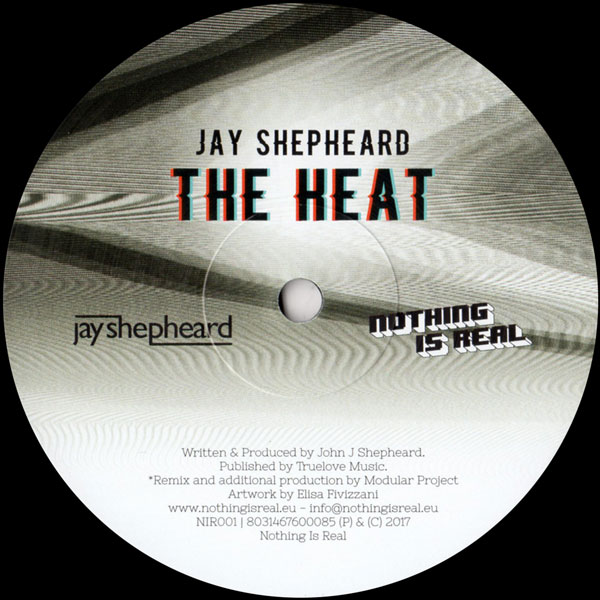 jay-shepheard-the-heat-nothing-is-real-cover