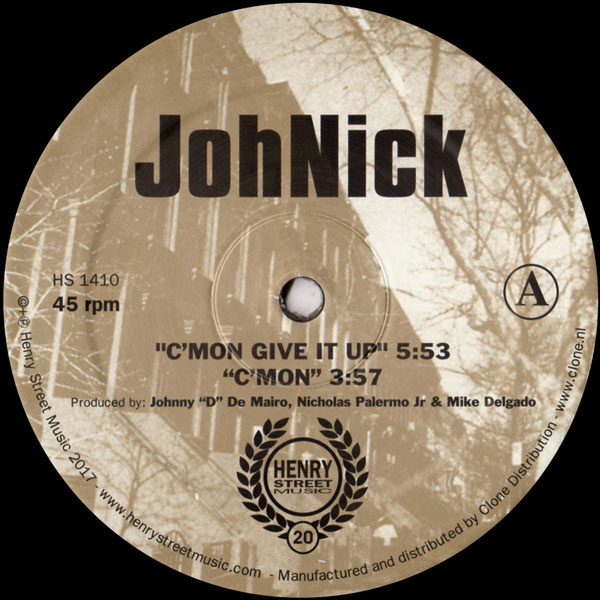 johnick-cmon-give-it-up-henry-street-music-cover